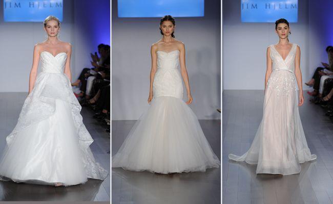 Jim Hjelm Wedding Dresses Spring 2015 | Kurt Wilberding | blog.theknot.com