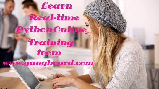 Get Best Python Online Training form GangBoard.
