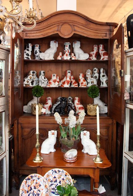 Staffordshire dog collection