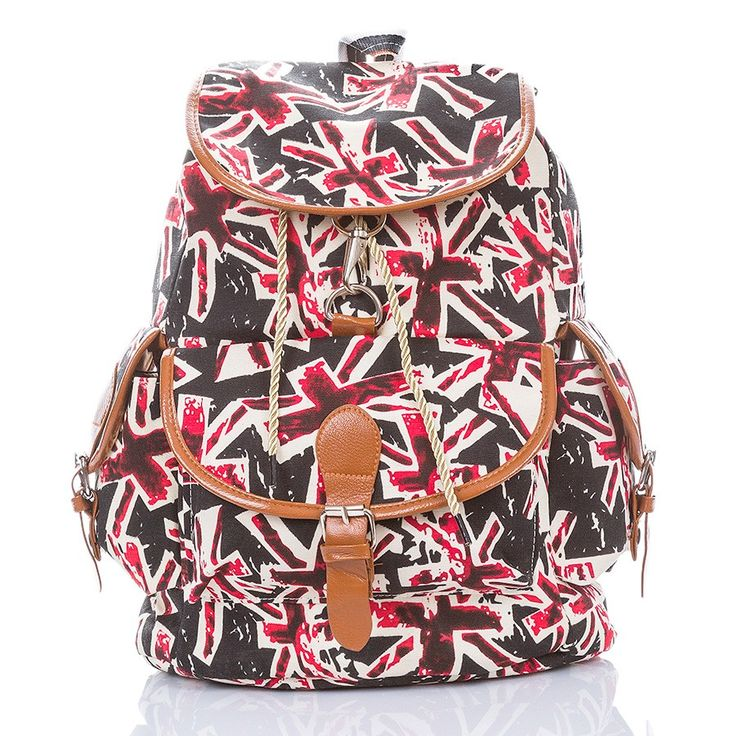 Plecak Szkolny Vintage Damski Backpacks Vintage Bags