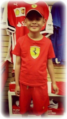 #Ferrari #kids #tshirt #shorts #RedSeason #F1 #official #merchandise #clothing #Christmas #gifts #boys #girls #PumaFerrari #Montreal