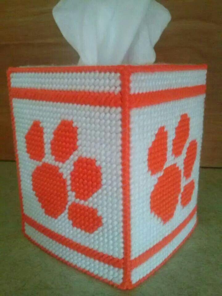 Clemson Design Cover  Box (Alternate University Tissue