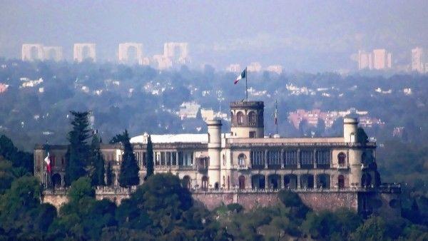 El Castillo de Chapultepec. Antiguo Colegio Militar - Mexico City