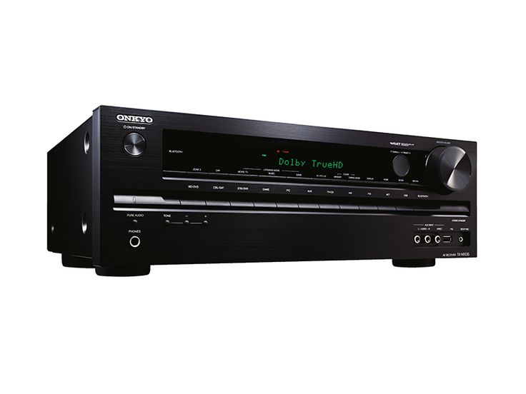 Onkyo TX-NR535 5.2-Channel Network A/V Receiver w/ HDMI 2.0 Time to Join the Ultra HD Revolution  Packing 5.2 channels of pure Onkyo muscle, your 60 fps Ultra HD gaming or movie experience comes to life with the TX-NR535. Seven 4K/60 Hz-ready HDMI® 2.0 terminals, inbuilt Wi-Fi® for hi-res audio streaming, onboard Bluetooth, and all the leading internet streaming services pre-loaded—this powerful entertainment hub is ready for anything. To deliver authentic hi-fi performance, the TX-NR535…