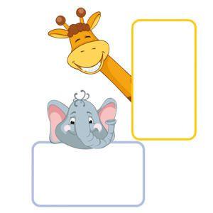 Etiquetas de animales de la selva - 24 etiquetas para imprimir - Manualidades para niños - Guia del Niño