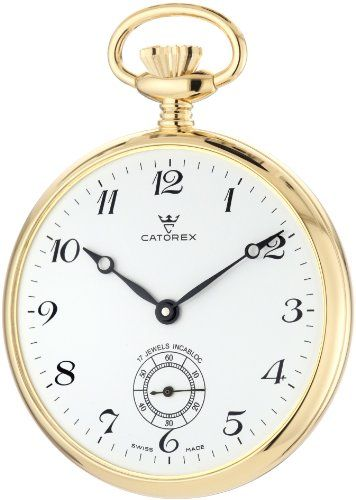 Catorex Men's 170.6.1810.120 Les Breuleux 18k Gold Plated Brass White Dial Pocket Watch https://www.carrywatches.com/product/catorex-mens-170-6-1810-120-les-breuleux-18k-gold-plated-brass-white-dial-pocket-watch/ Catorex Men's 170.6.1810.120 Les Breuleux 18k Gold Plated Brass White Dial Pocket Watch  #pocketwatchesformen #whitewatchesformen