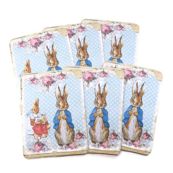 Peter Rabbit Note Cards Blank Note Cards by EnchantedQuilling