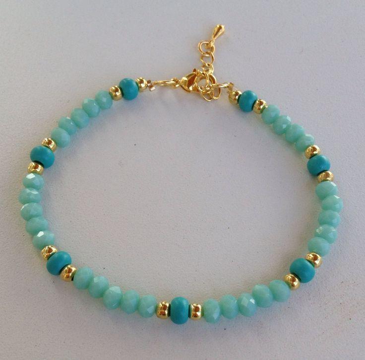 1000+ ideas about Pulseras De Cristal on Pinterest   Bracelets ...