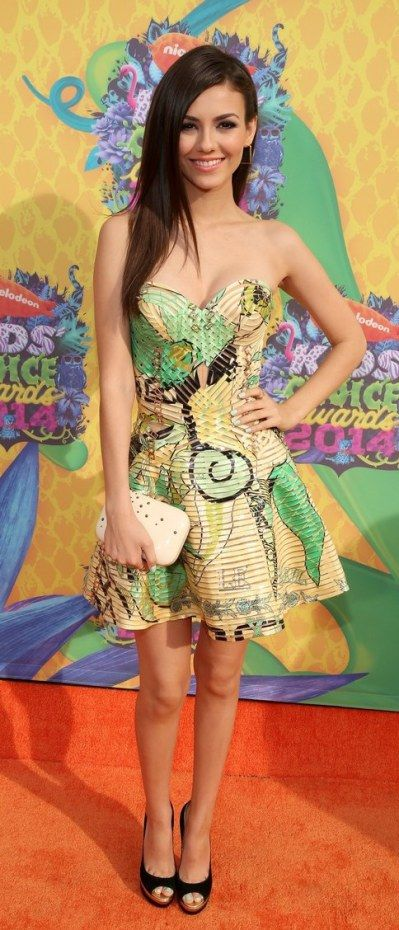 KIDS CHOICE AWARDS 2014 – Victoria Justice
