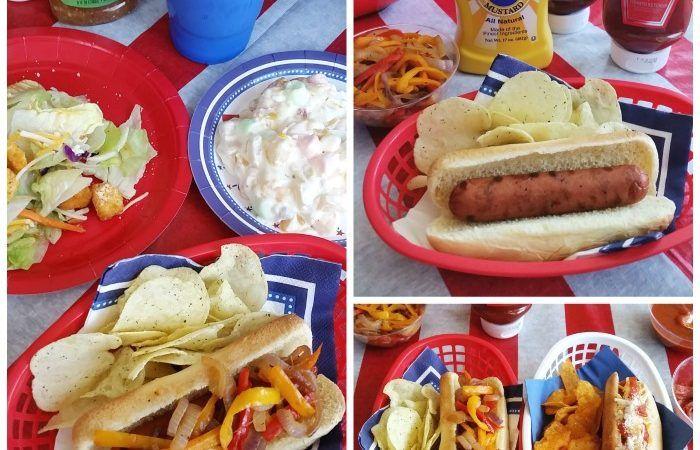 Self-serve hot dog party #dothe99
