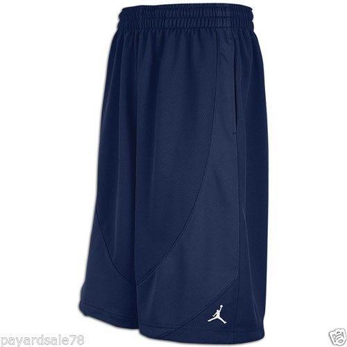 mens size 4xl xxxxl nike jordan basketball shorts navy