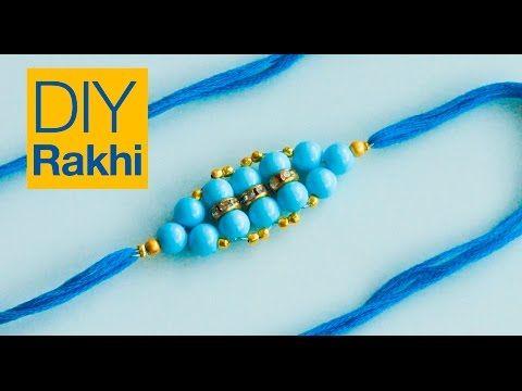 DIY Easy Lumba Rakhi for Raksha Bandhan | How to make | JK Arts 596 - YouTube