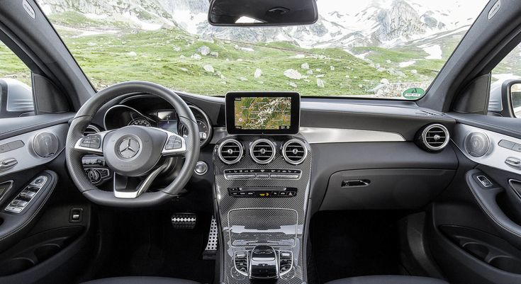 2017 Mercedes-Benz GLC 300 Coupe Interior Images ...