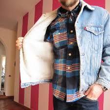 anni80 giacca jeans con pellicciotto wrangler - Cerca con Google