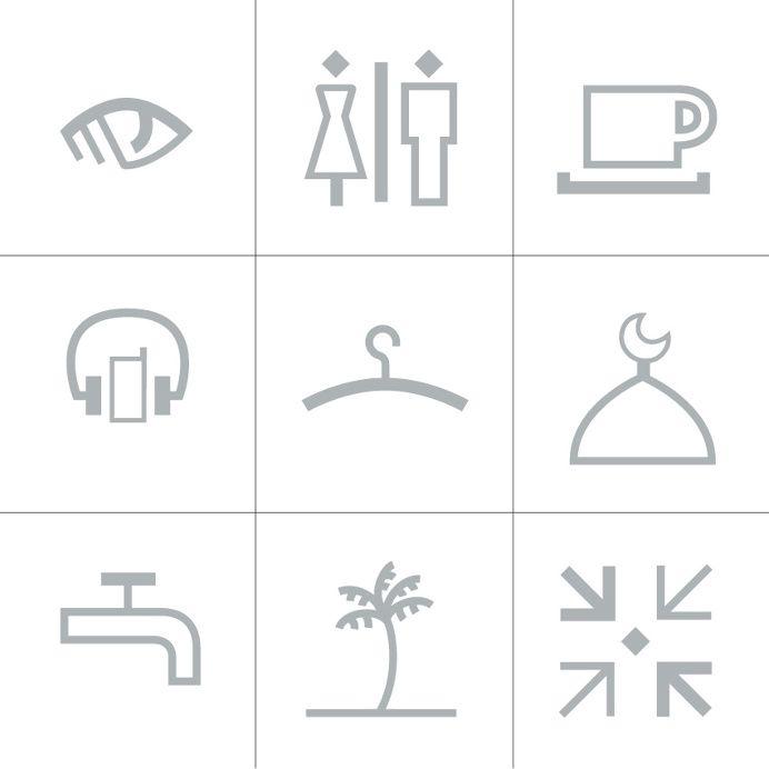 Dépli design studio   Pictos au croisementdes cultures orientales et occidentales #pictogram #icon #icondesign