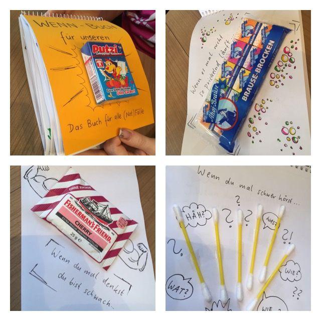Wenn-Buch, Geburtstagsgeschenk