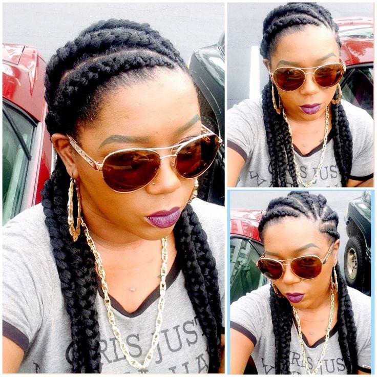 Ghana Braids @asiacruz04 - http://community.blackhairinformation.com/hairstyle-gallery/braids-twists/ghana-braids-asiacruz04/