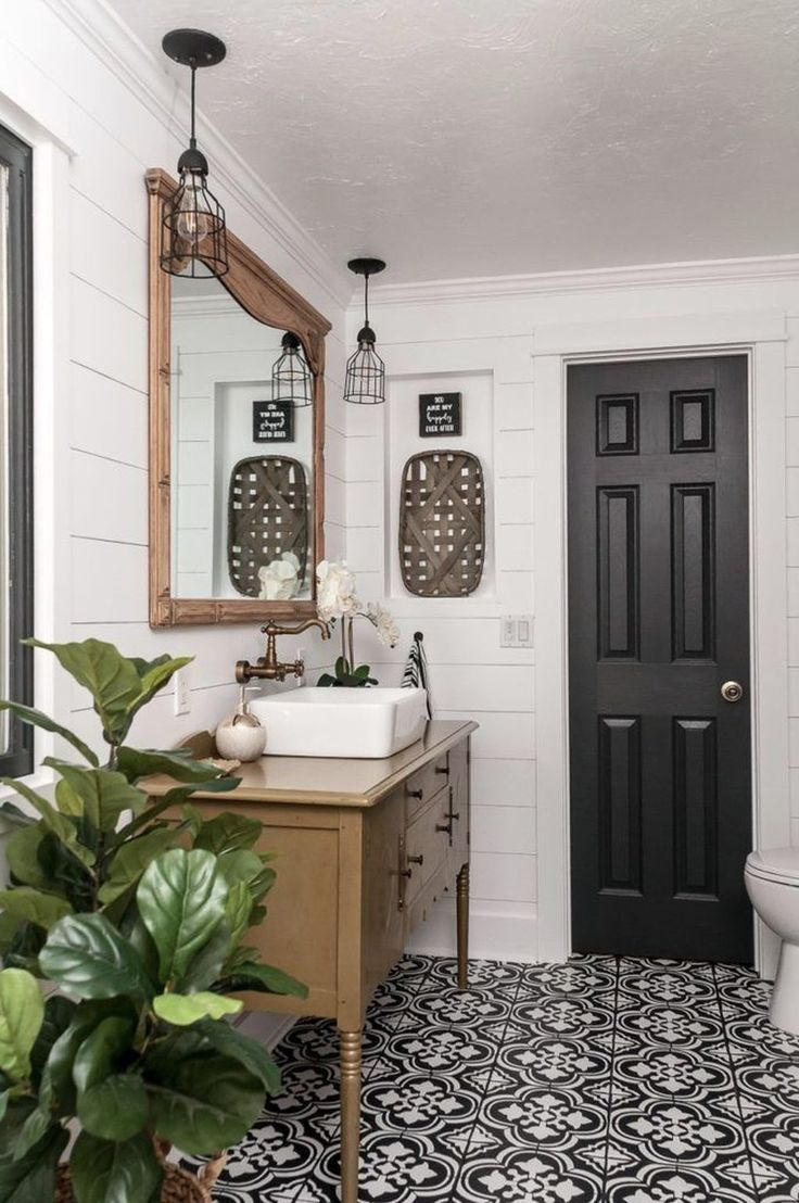 39 Simply Farmhouse Bathroom Accessories Ideas That You Need To
