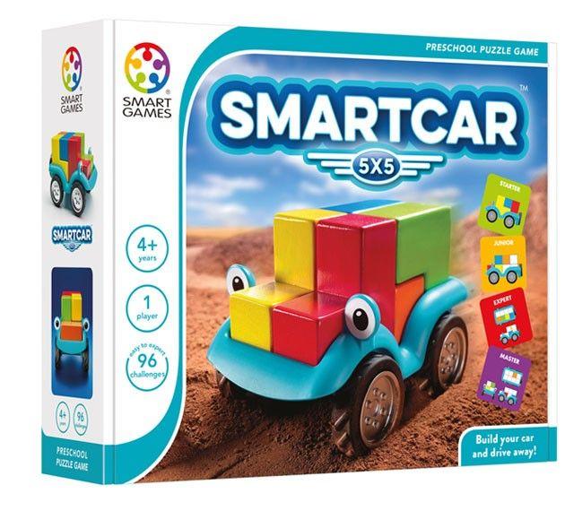 Smart Games - Smart Car Single Player Multi Level Logic Puzzle Challenge 2