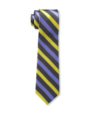 65% OFF Ben Sherman Men's Stripe Tie, Navy/Yellow