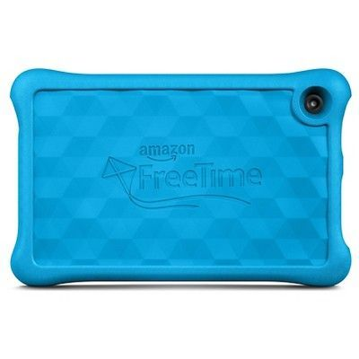 Amazon Fire Kids Tablet, 7 Display, Wi-Fi, 16 GB, Special Offers - Blue