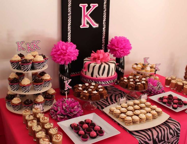"Animal Print / Birthday ""Karina's Party "" 