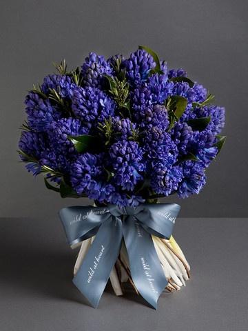 Nikki Tibbles Wild At Heart Ltd — Seasonal Hyacinth Bouquet