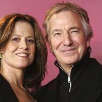 U.S. actress Sigourney Weaver and British actor Alan Rickman pose during a 2006 photocall for their movie 'Snow Cake' at the Berlinale in Berlin. British actor Rickman, whose career ranged from Britain's Royal Shakespeare Company to the 'Harry Potter' films, has died. He was 69, Rickman's family said Thursday. | AP