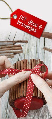 DIY-, déco & bricolages pour Noël