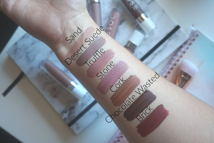 Dose of colors new matte liquid lipstick swatches