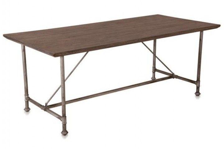 Massivholz Esstisch Und Stuhle : Industrial Chic Esstisch Industrie Look Tisch aus Massivholz Neu im