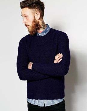 Gant+Rugger+Jumper+with+Textured+Knit