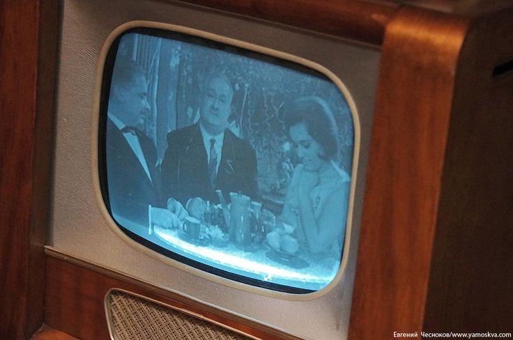 Старый телевизор времён СССР / Retro TV