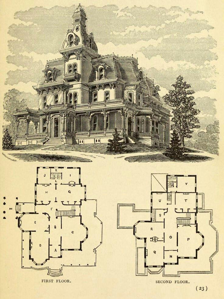 Victorian House Plans Buscar Con Google Victorian House Plans Mansion Floor Plan House Floor Plans
