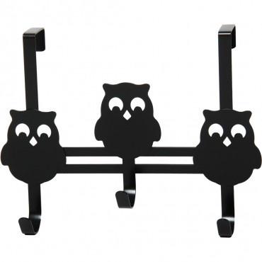 Over door owl hook - storage - furniture + decor