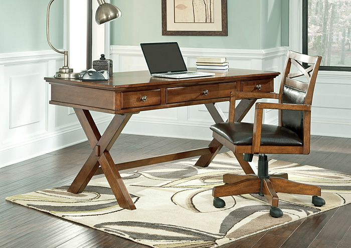 Burkesville Desk At Jennifer Convertibles Home Office DesksHome