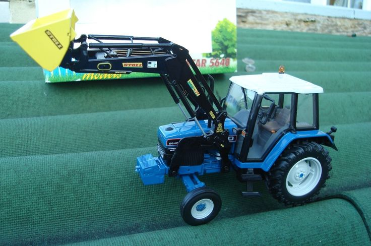 BRITAINS SCALE IMBER / ROS FORD 6640 2WD AND LOADER TRACTOR FOR FARM CONVERSION   eBay