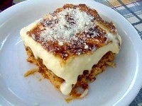 Greek pastitsio, one of my favs :)