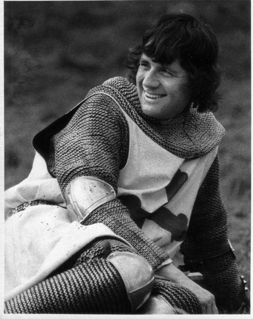 Michael Palin as Sir Galahad in Monty Python & the Holy Grail.