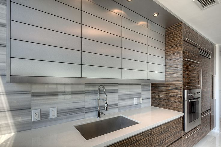 Modern Kitchen Design with Zambrino Cabinets and Grey Mink Marble