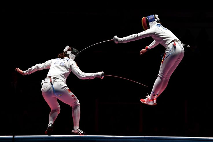 Caption this! #Fencing #Olympics #リオ五輪