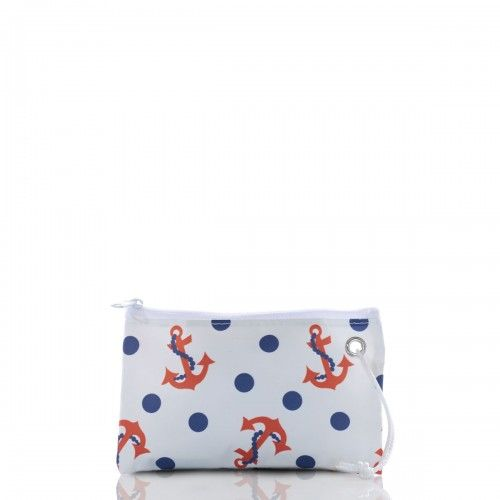 From pinup girls in polka dot bikinis to Minnie Mouse herself, the Dot and Anchor Wristlet from Sea Bags. http://seabags.com/dot-and-anchor-wristlet.html