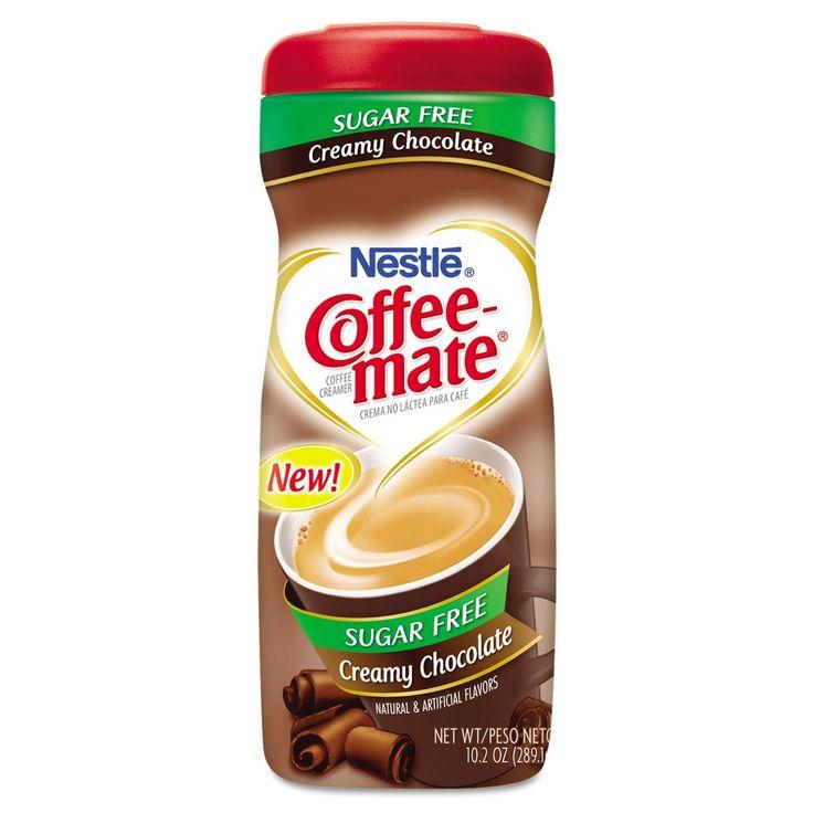 Coffeemate coffee creamer sugar free creamy chocolate