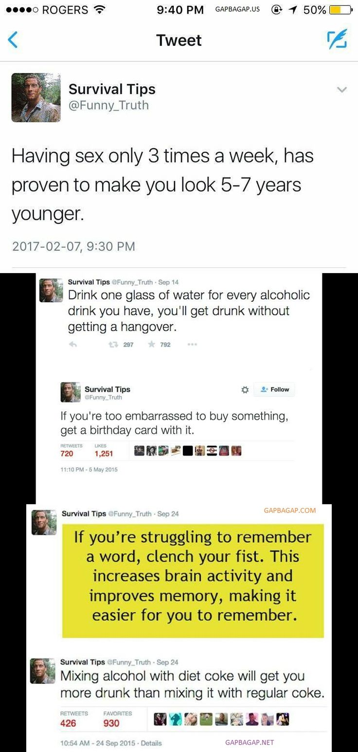 Top 5 Hilarious Tweets By Survival Tips