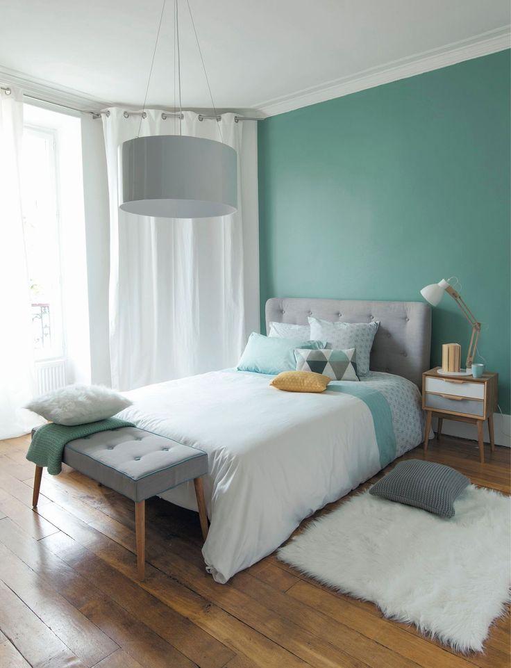 papier peint tendance chambre adulte l gant couleur mur chambre adulte ravizh em 2019. Black Bedroom Furniture Sets. Home Design Ideas