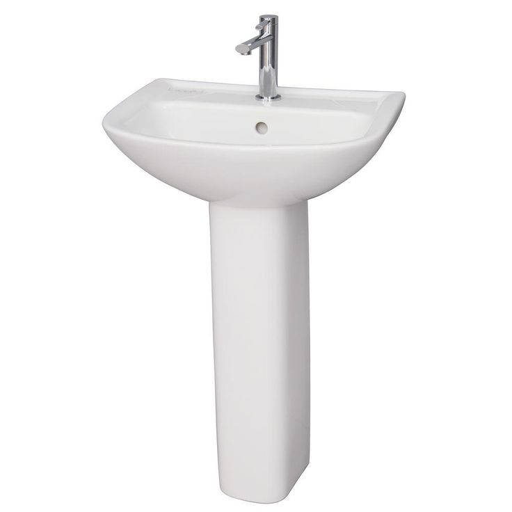 S O Barclay Products Washington 650 25 In Pedestal Combo Bathroom