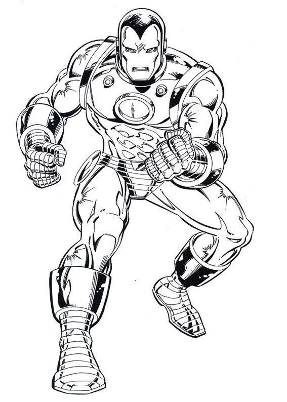 Disegni Da Colorare Con Iron Man.60 Disegni Di Iron Man Da Colorare Libri Da Colorare Iron Man Disegni