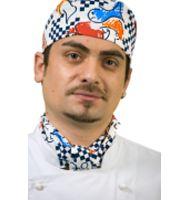 CH815 - Vegetable Print Chefs Hat