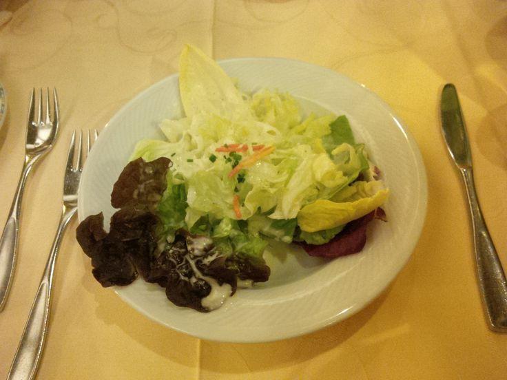 Seasonal salad @ Restaurant Belfort