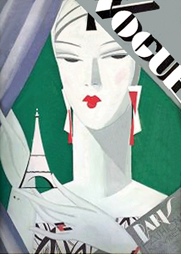 Art Deco Vogue #UpscaleYourWalls with ruemarcellin.com